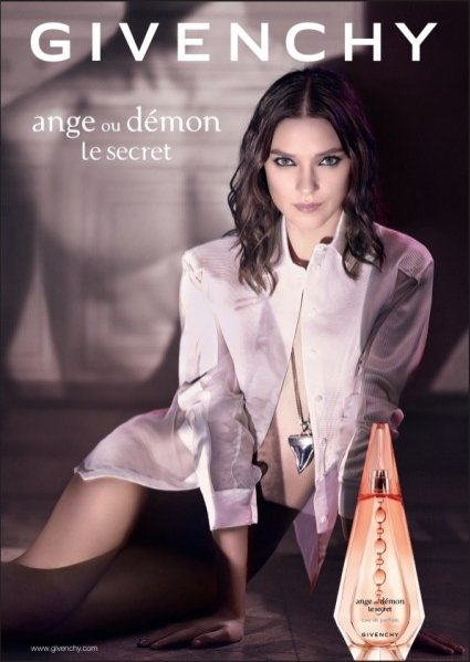 Kati Nescher w kampanii Givenchy Ange ou Demon Le Secret, fot. Mikael Jansson