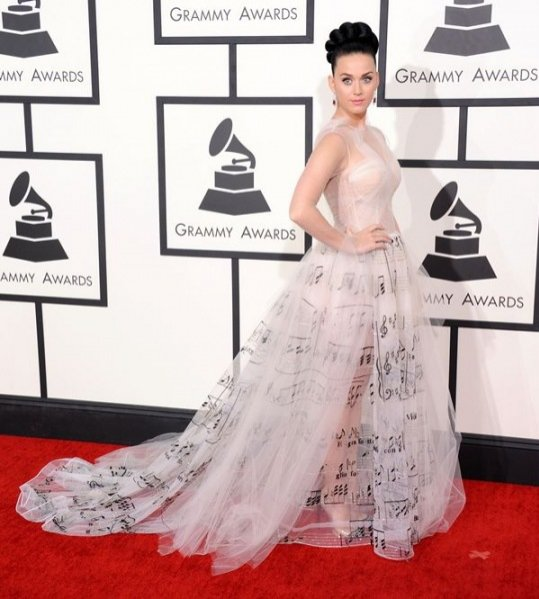 1. Katy Perry - Valentino