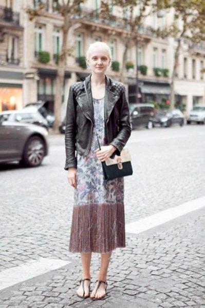 wywiad z modelką Mają Salamon w czasie Paris Fashion Week