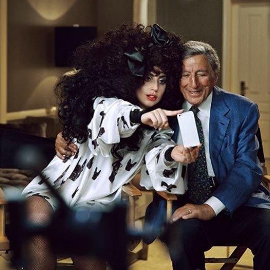 1. Lady Gaga i Tony Benett dla H&M