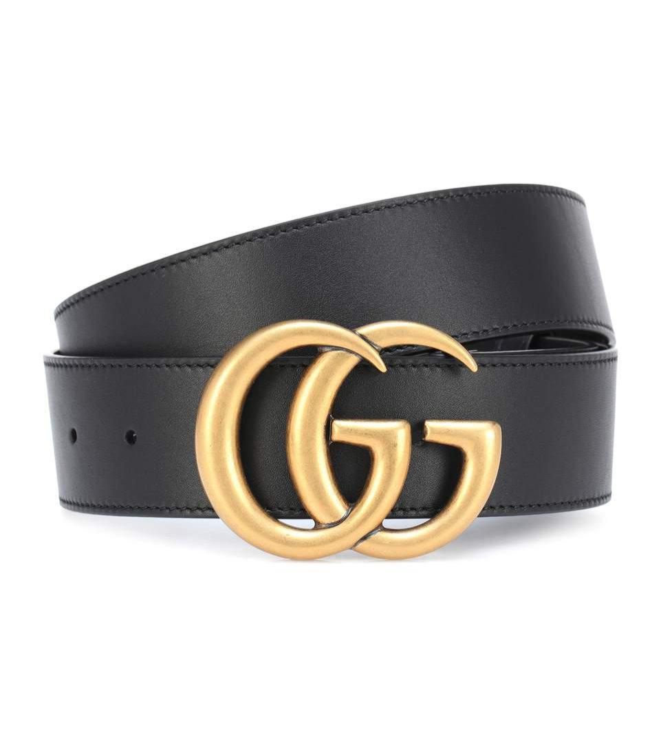 Pasek Gucci - GG logo belt, 350 eur