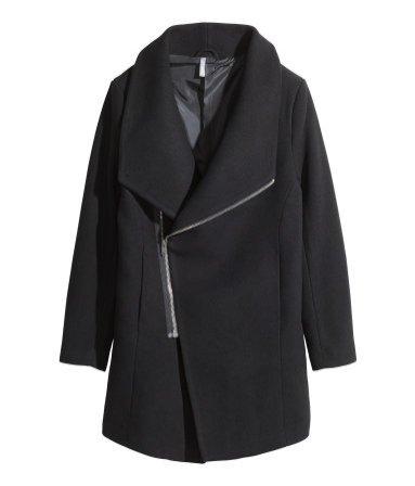 1. Płaszcz, H&M, 279 PLN