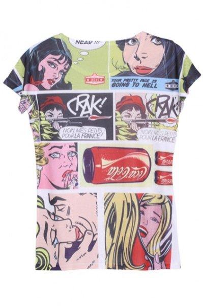 1. T-shirt, ROMWE