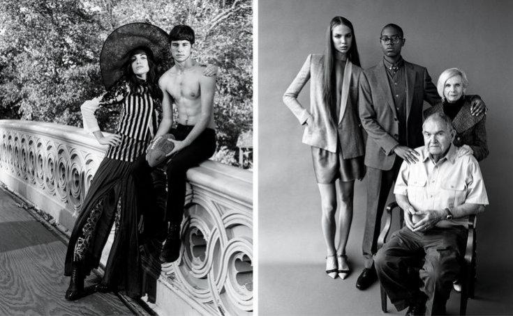 1. Wiosenna kampania Bruce'a Webera dla Barneys z udziałem modeli transgender