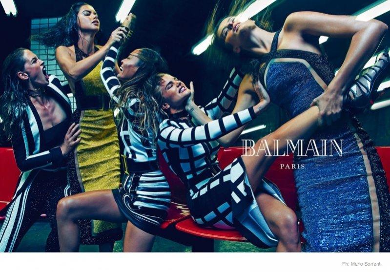 1. Balmain - kampania damskiej kolekcji wiosna lato 2015