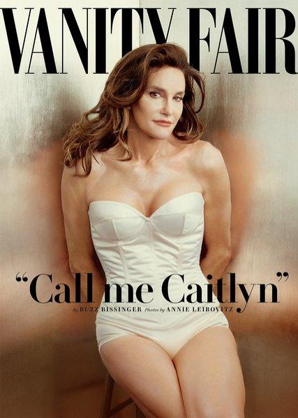 1. Caitlyn Jenner na okładce Vanity Fair