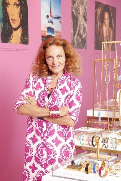1. Diane von Furstenberg w showroomie
