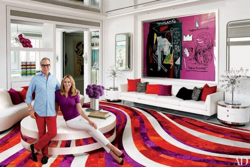 1. Dee & Tommy Hilfiger w swoim domu