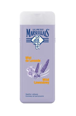 1. Kremowy żel pod prysznic Le Petit Marseillais Miód Lawendowy