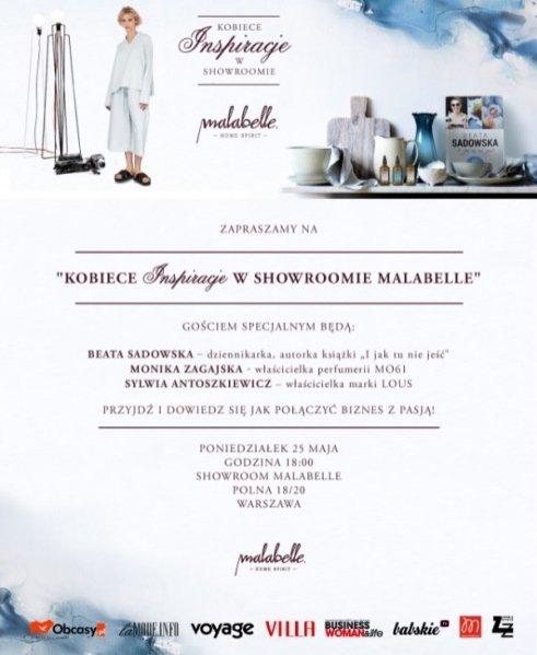 1. Kobiece inspiracje w showroomie Malabelle