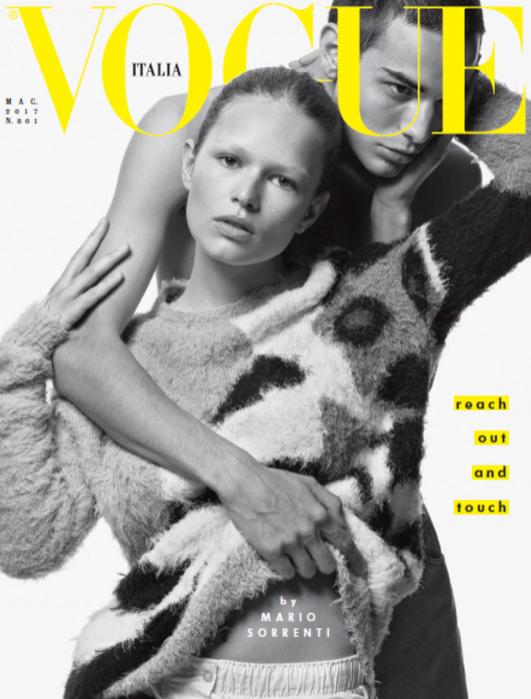 Vogue Italia - sesja autorstwa Mario Sorrenti maj 2017