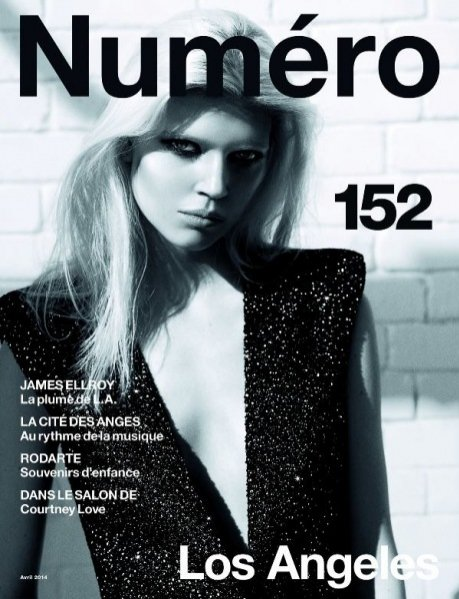 """1. Ola Rudnicka w edytorialu """"Glamorama"""", NUMÉRO #152 April 2014"""