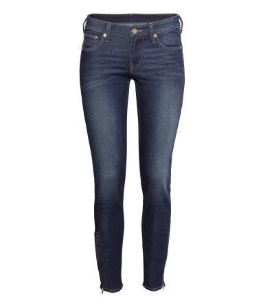 1. Dżinsy Skinny Low Ankle H&M, 129,90 PLN