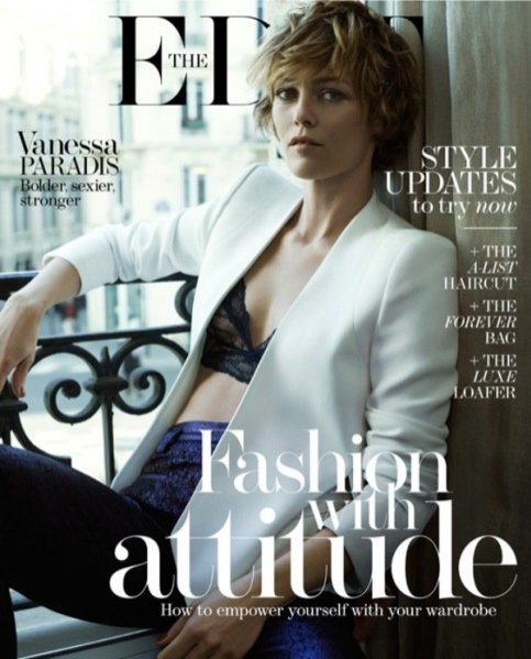 "1. Vanessa Paradis w edytorialu ""Phoenix Rising"", The Edit Magazine, April 2014"