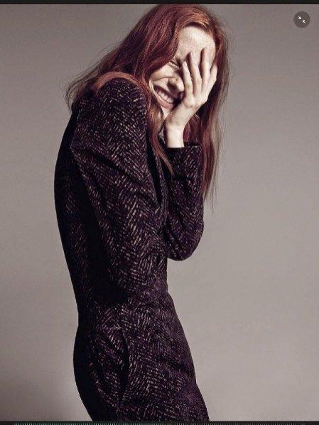 """1. """"Just Smile!"""" sesja w sierpniowym wydaniu Vogue Italia"""