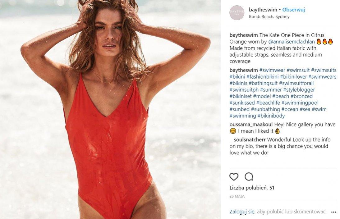 Ekologiczne marki kostiumów kąpielowych: Baythe Swim