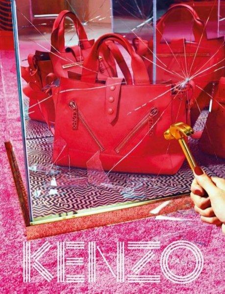 1. Kampania Kenzo jesień zima 2014/2015
