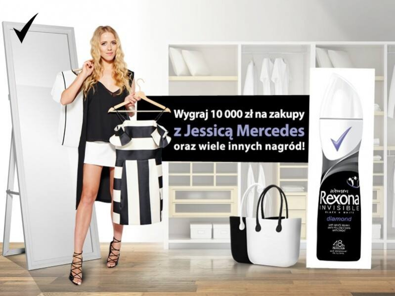 INSPIRACJE BLACK&WHITE - WYGRAJ ZAKUPY Z MARKĄ REXONA!