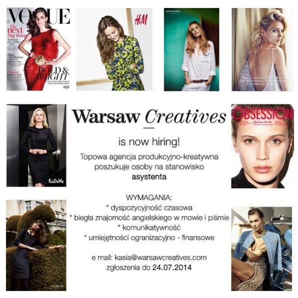Oferta pracy w Warsaw Creatives