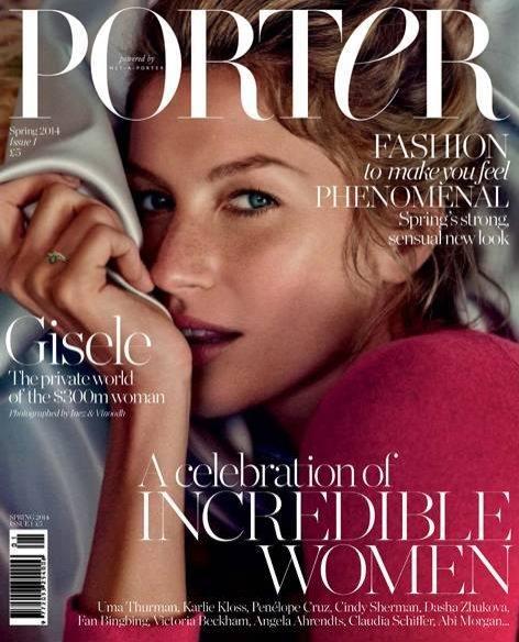 Okładka Porter Magazine Spring 2014