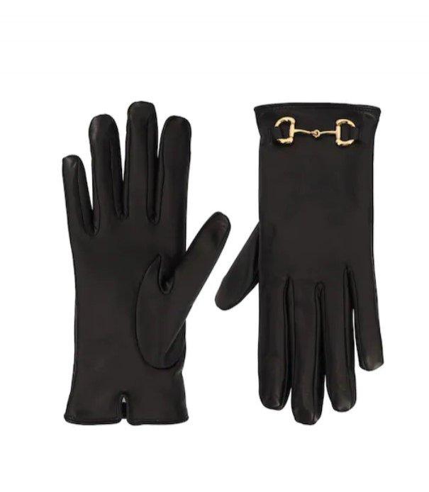 Rękawiczki skórzane Gucci / LuisaViaRoma