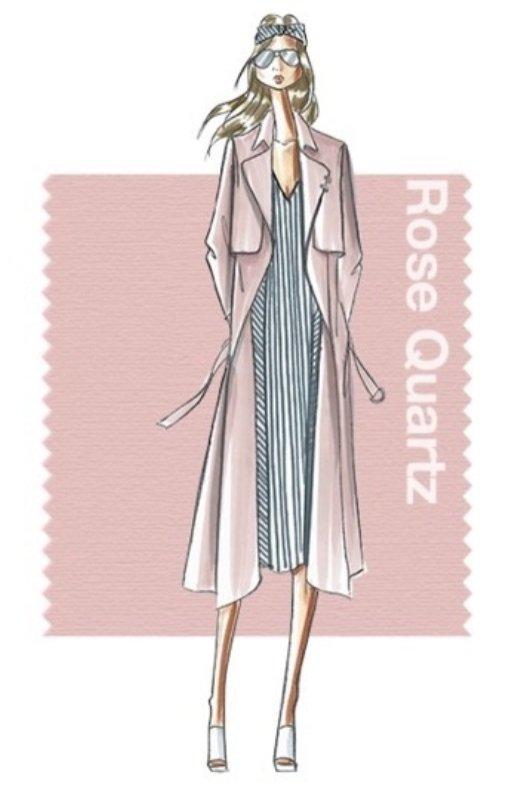 Pantone wiosna lato 2016 - Rose Quartz