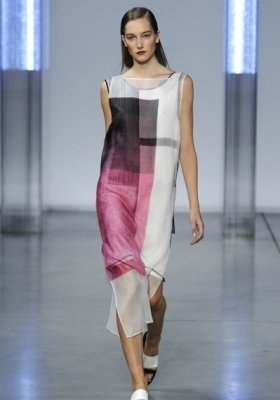 NEW YORK FASHION WEEK – BCBG MAX AZRIA, HELMUT LANG, JASON WU –  WIOSNA LATO 2014