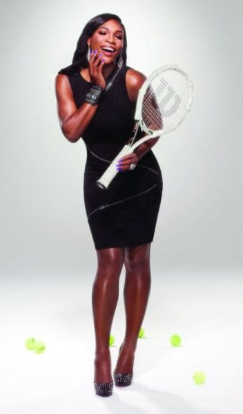 Tenisistka Serena Williams.
