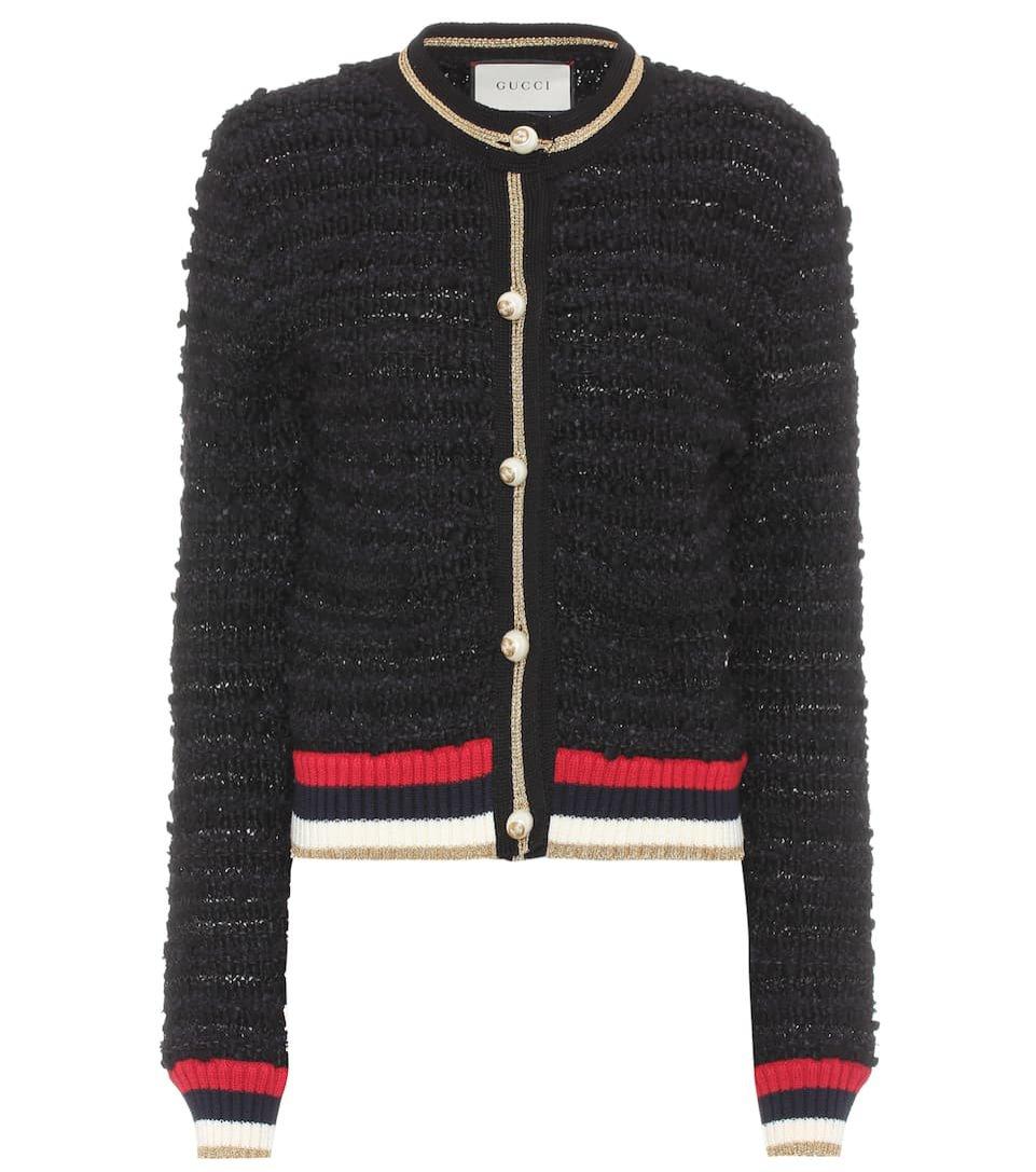 Tweedowy żakiet a'la bluza, Gucci/Mytheresa, 1200 eur