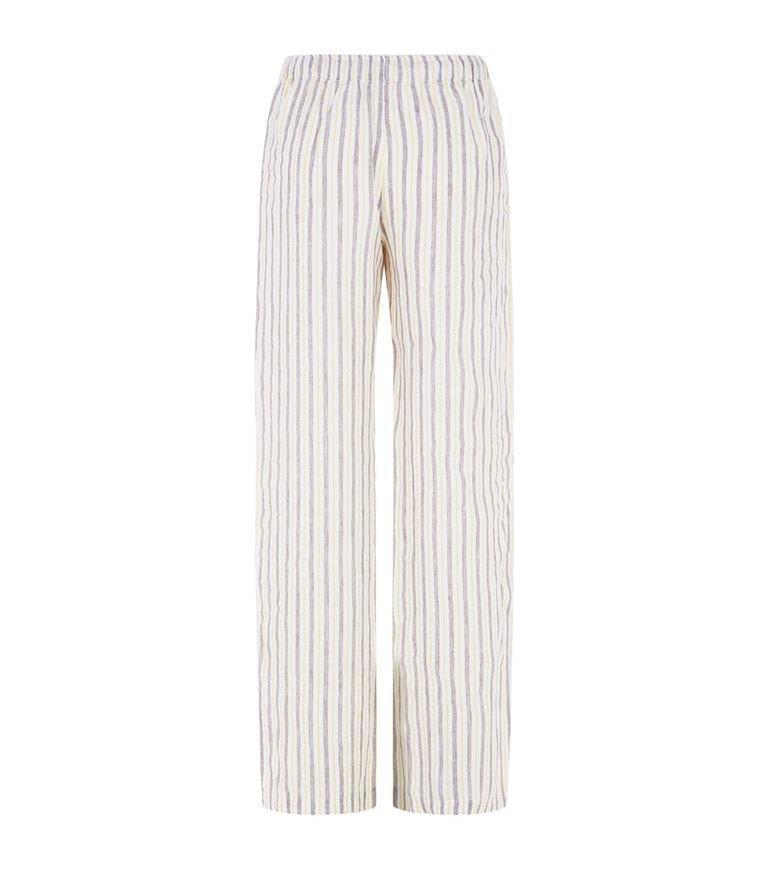 Pasiaste spodnie, 120 % Lino/Harrods, 890 pln