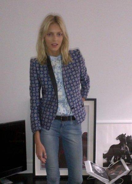 Anja Rubik dla brytyjskiego Vogue