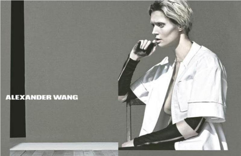 Małgosia Bela w kampanii Alexander Wang wiosna lato 2013