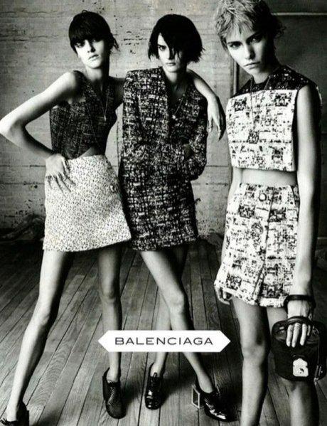 kampania Balenciaga wiosna lato 2013
