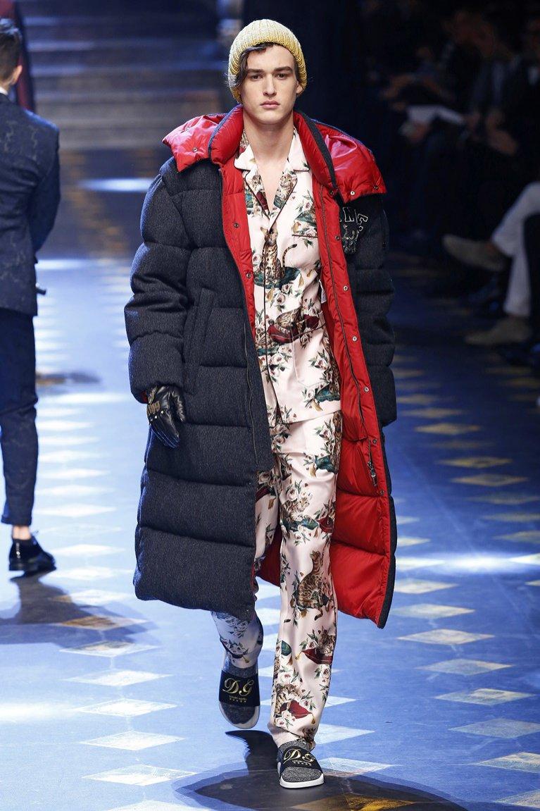 Kurtka puchowa Dolce&Gabbana