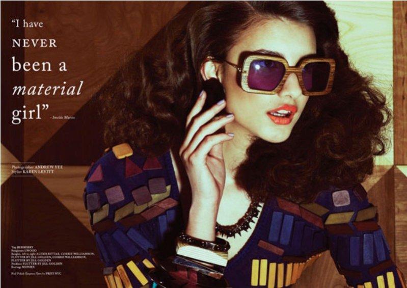 Martyna Franków w magazynie Glass Kwiecień 2012