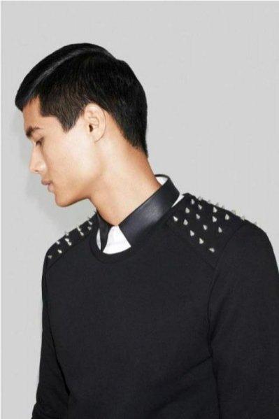 lookbook Zara Man na październik 2012