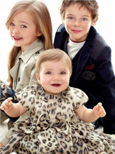 kolekcja Roberto Cavalli dla dzieci jesień zima 2012/13