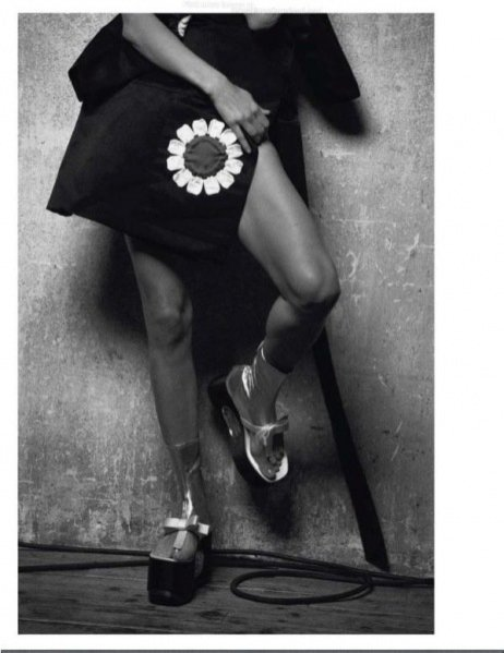 Małgosia Bela w sesji dla marcowego Vogue Paris