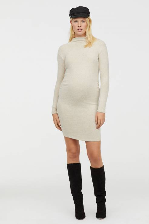 Dżersejowa sukienka, H&M, 180 pln