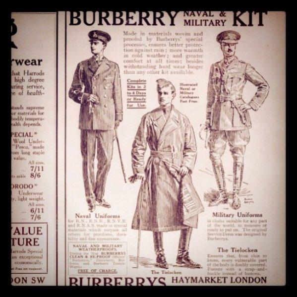 1. Historia marki Burberry