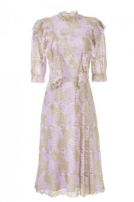 Liliowa sukienka, Tomaotomo, 1980 pln