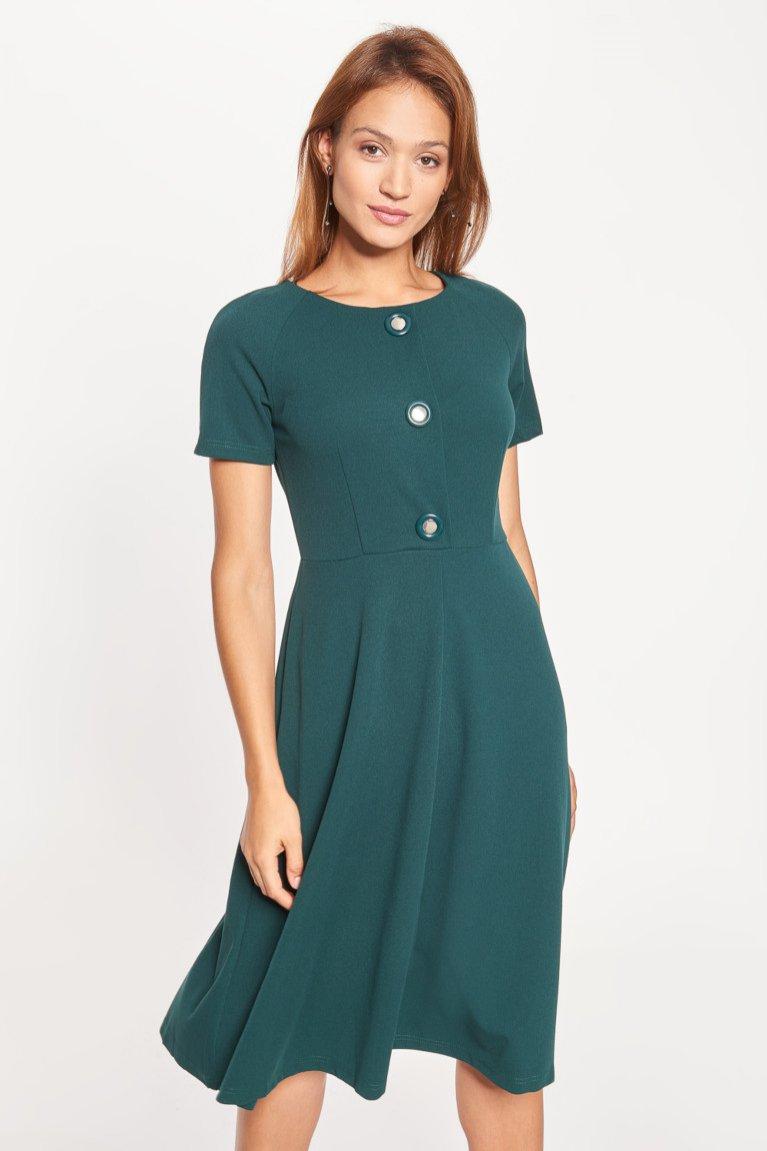 Sukienka odcinana w talii, Qiuosque, 199,99 pln