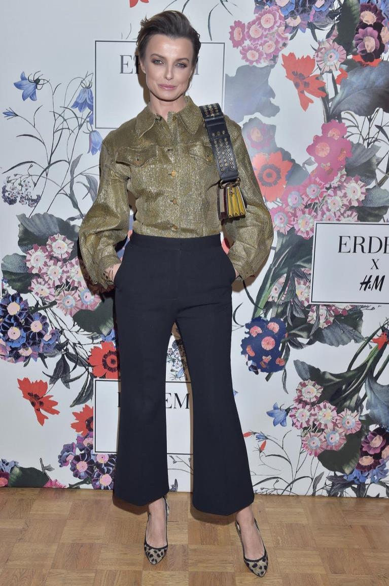 Kasia Sokołowska na premierze ERDEM x H&M