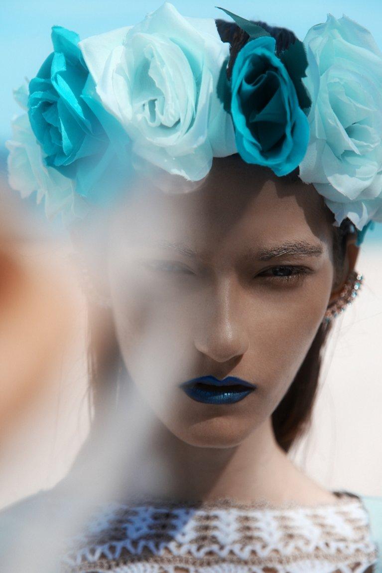 Makijaż Kasi Jujeczki autorstwa Agnieszki Wilk