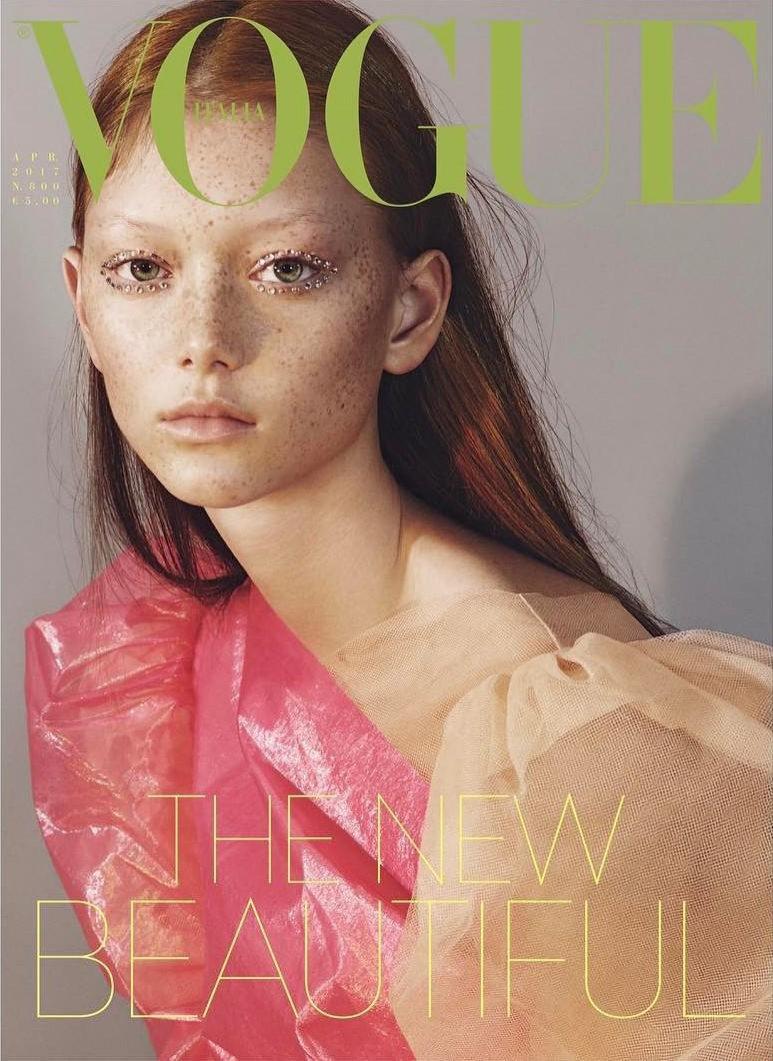 Vogue Italia kwiecień 2017