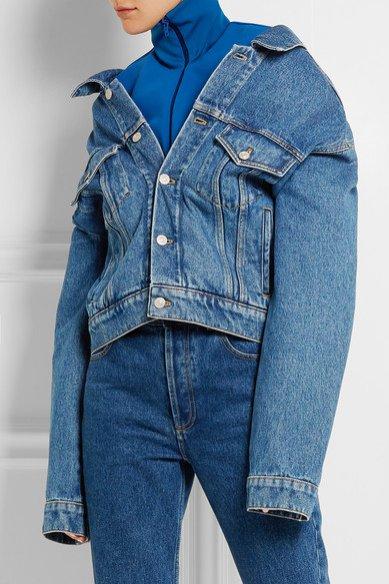 Jeansowa kurtka Balenciaga / Net a porter (2900 zł)