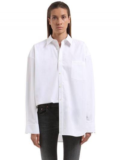 Biała koszula Balenciaga / Luisa Via Roma (2638 zł)