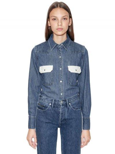 Koszula jeansowa Calvin Klein Jeans / Luisa Via Roma (130 eu)