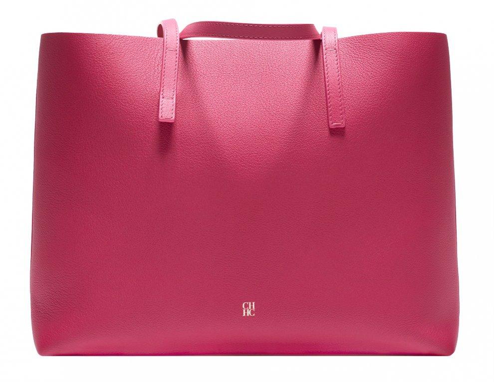 Różowa torebka Carolina Herrera, cena do sprawdzenia online