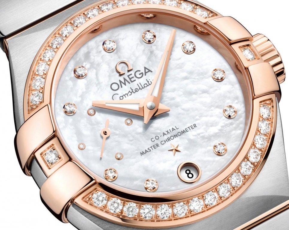Detale OMEGA Constellation Master Chronometer Petite Seconde